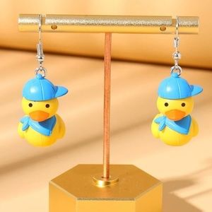 🐥 Super Cute Rubber Ducky With Hat 🧢